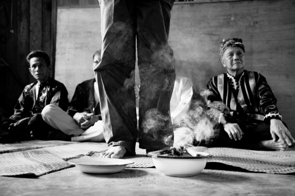 Subanon elders hold an indigenous trial of the Canadian mining companies.