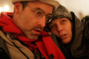 ATSA collaborators Pierre Allard and Annie Roy. Photo by Martin Savoie.