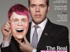 Perez Hilton on the cover of The Advocate.