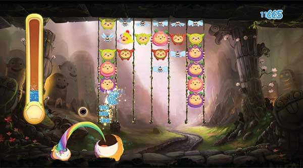 Gameplay in Critter Crunch for the Playstation 3. Image courtesy Capybara Games.