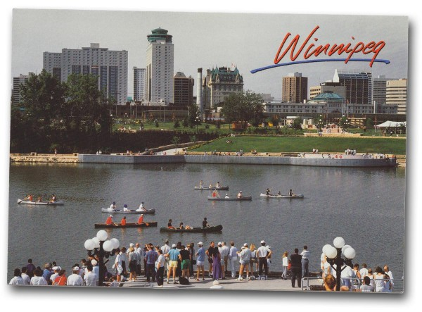 Winnipeg, Manitoba - Front