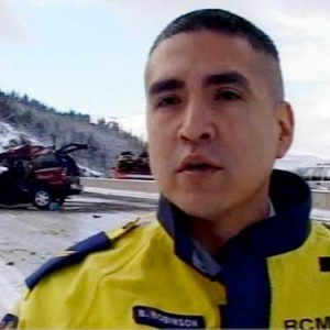 RCMP officer Monty Robinson