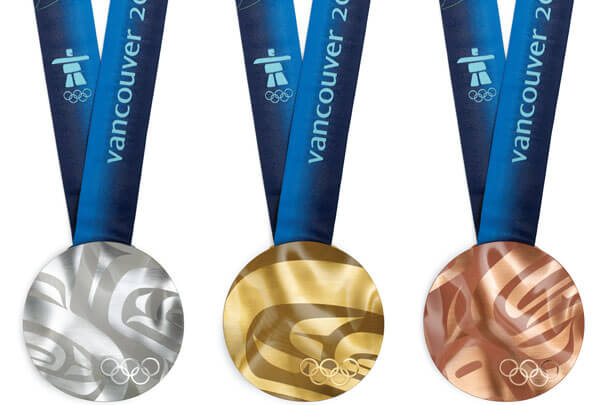 The Vancouver 2010 Olympic Medals