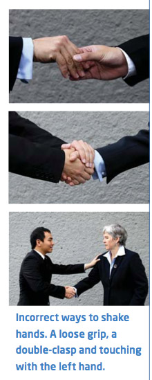 City of Vancouver tells you how to shake hands.
