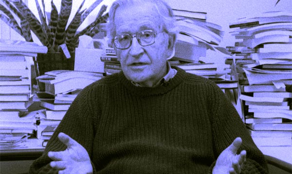 "Noam Chomsky in ""Encirclement: Neo-Liberalism Ensnares Democracy"""