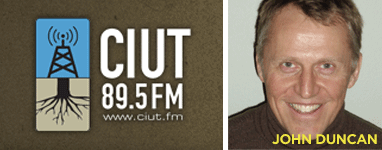 John Duncan on CIUT Radio, March 16, 2010