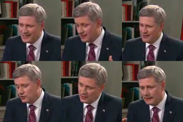 Stephen Harper on YouTube