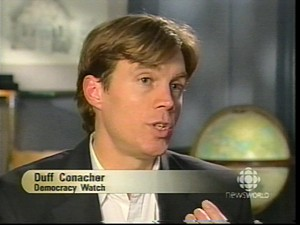 Duff Conacher, coordinator of Democracy Watch.