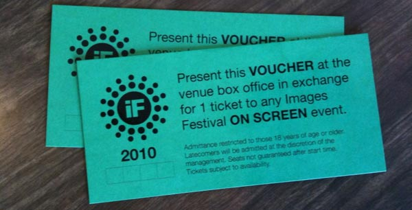 Images Festival tickets