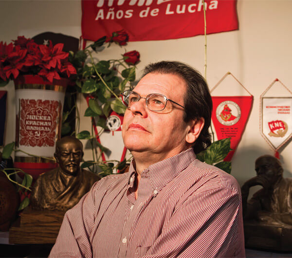 Miguel Figueroa, leader of the Communist Party of Canada