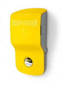 Yello Strom energy metre in use. Courtesy Yello Strom.