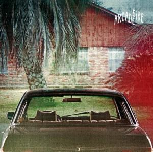"Cover of the Arcade Fire's new single ""The Suburbs"""