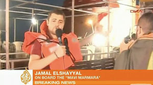 Al Jazeera correspondent Jamal Elshayyal reports from on board the Mavi Marmara, one of six ships that were intercepted by Israeli Defence Forces while attempting to break the blockade of Gaza on May 31, 2010.