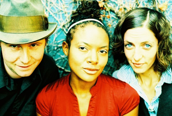 Po' Girl band members, from left: Benny Sidelinger, Allison Russell, and Awna Teixeira. Photo courtesy the band.