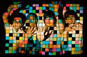 The Meligrove Band. Photo illustration by Mat Dunlap.