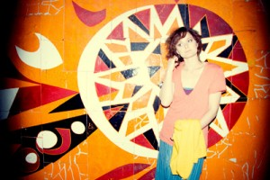 Elizabeth Powell, lead singer for Land of Talk