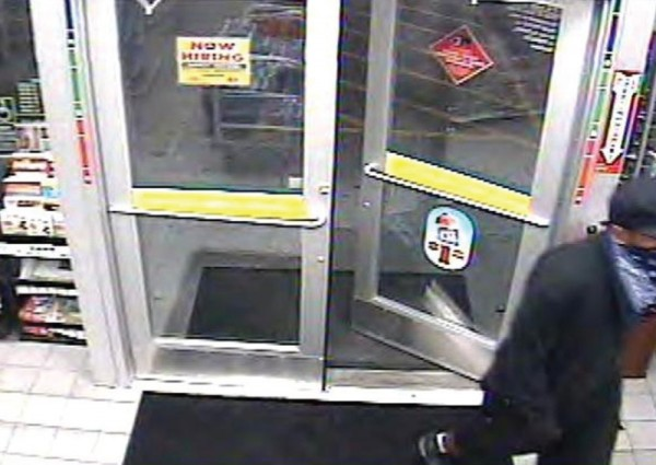 Convenience store security footage