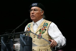 Metis National Council president Clément Chartier