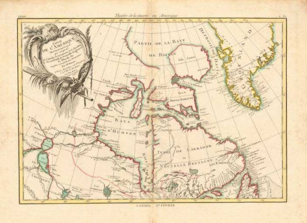 A partial map of Canada's North, c. 1776. Province-like powers are needed to improve living conditions, but only if the negotiations are fair.