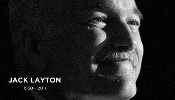 Jack Layton, 1950-2011.