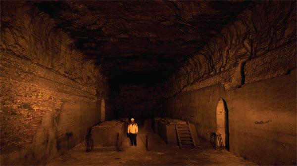 Interior of the former Santa Ana mine. Photo by José Luis Aranda.