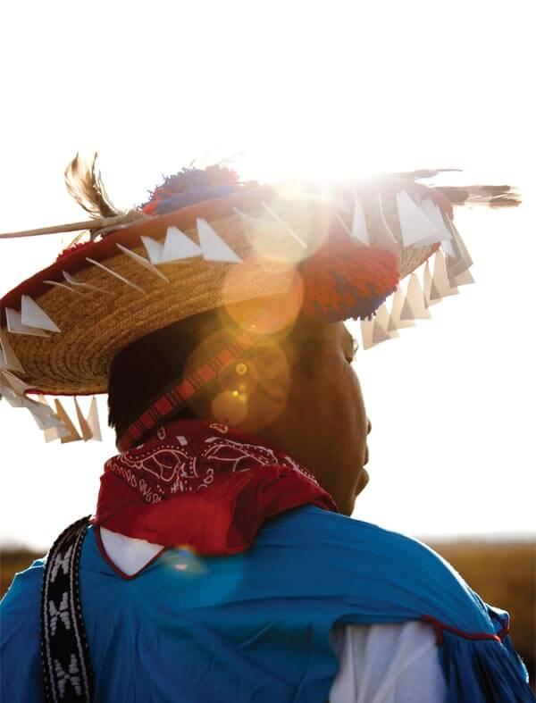 Alberto Hernandez Gonzales, a Huichol guardian of Wirikuta. Photo by José Luis Aranda.