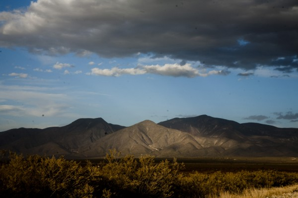 The Wirikuta mountain range in the Chihuahua desert in central Mexico. Photo by José Luis Aranda.