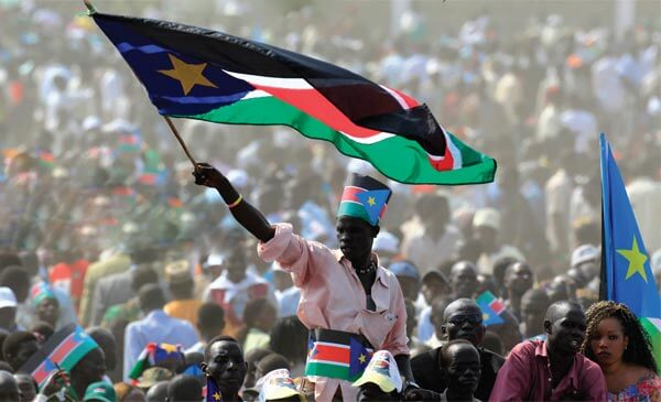 Celebrations marking the independence of Southern Sudan, July 9, 2011.