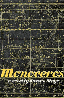 Cover of Monoceros by Suzette Mayr