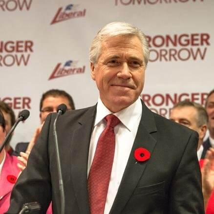 Newfoundland and Labrador Premier Dwight Ball.